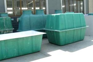 玻璃钢化粪池施工方法